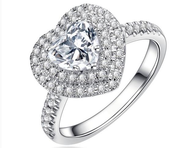 五十分的钻石戒指多少钱