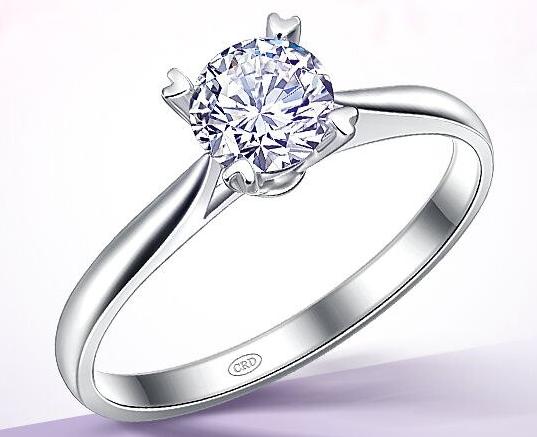 一克拉钻石戒指报价多少钱