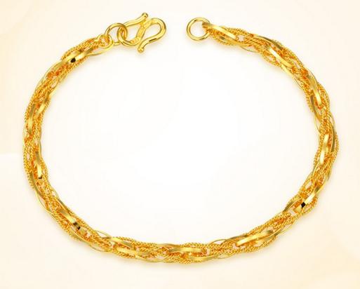女士戴的黄金手链有多重