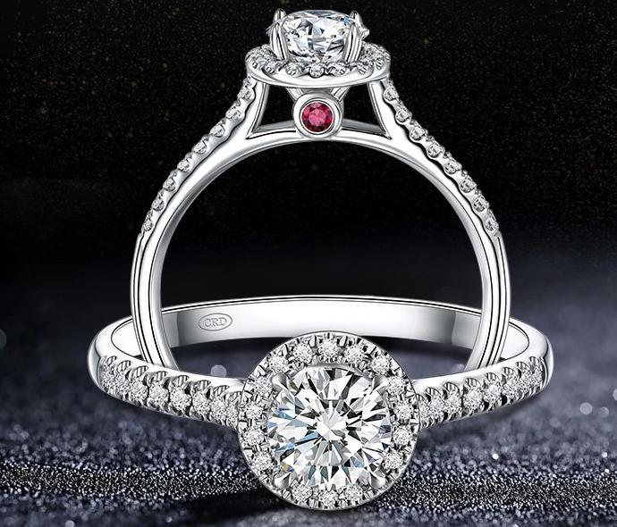 女士红宝石白金戒指的价格如何估算