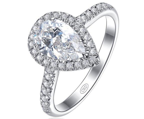 女士白金钻石戒指价格是多少