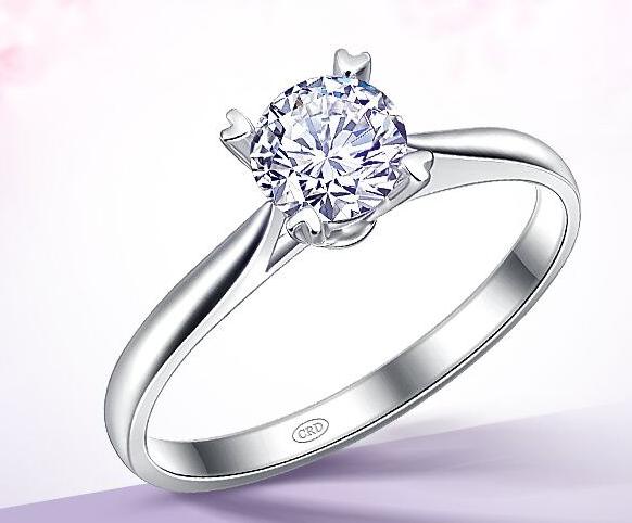 女款白金戒指的价格是多少