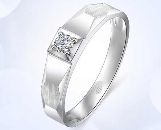 男士白金戒指的价格贵吗