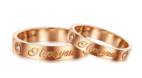 佩戴情侣戒指寓意着什么