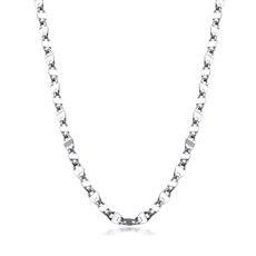 瓦片链—PT950铂金项链