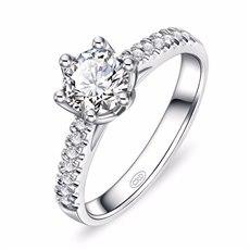 女王之冠-18K金钻石女戒