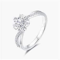 CRD花嫁系列-花嫁 铂金钻石戒指