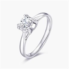 宠爱—18K金钻石戒指