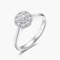 星空—18K金钻石戒指