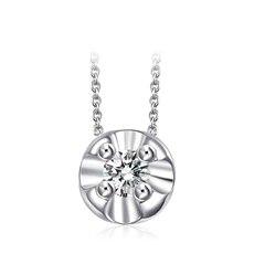 【花蕊】-钻石链坠