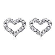 甜蜜心-钻石耳钉