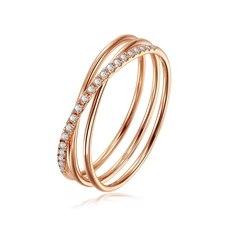 克徕帝 - 18K金钻石戒指(新品)
