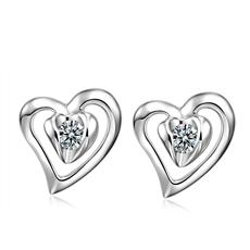 【新品】-钻石耳钉E0078B
