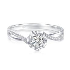 【新品】-钻石女戒G0879