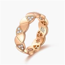 CRD Symbol系列 18K金钻石情侣戒