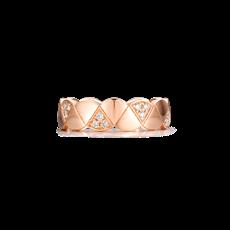 扇形钻石戒指
