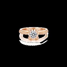 海豚款钻石戒指