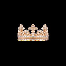 鸢尾花钻石戒指